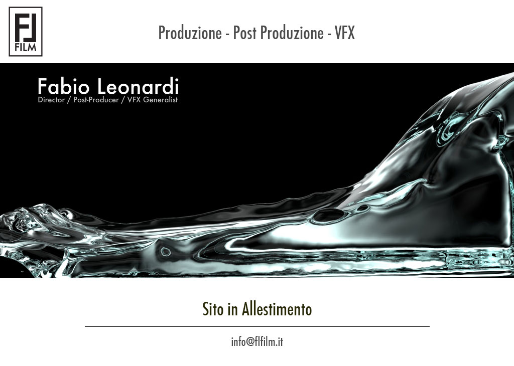 Fabio Leonardi Film - Coming Soon